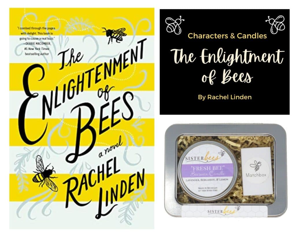 The Enlightenment of Bees Characters and Candles Box