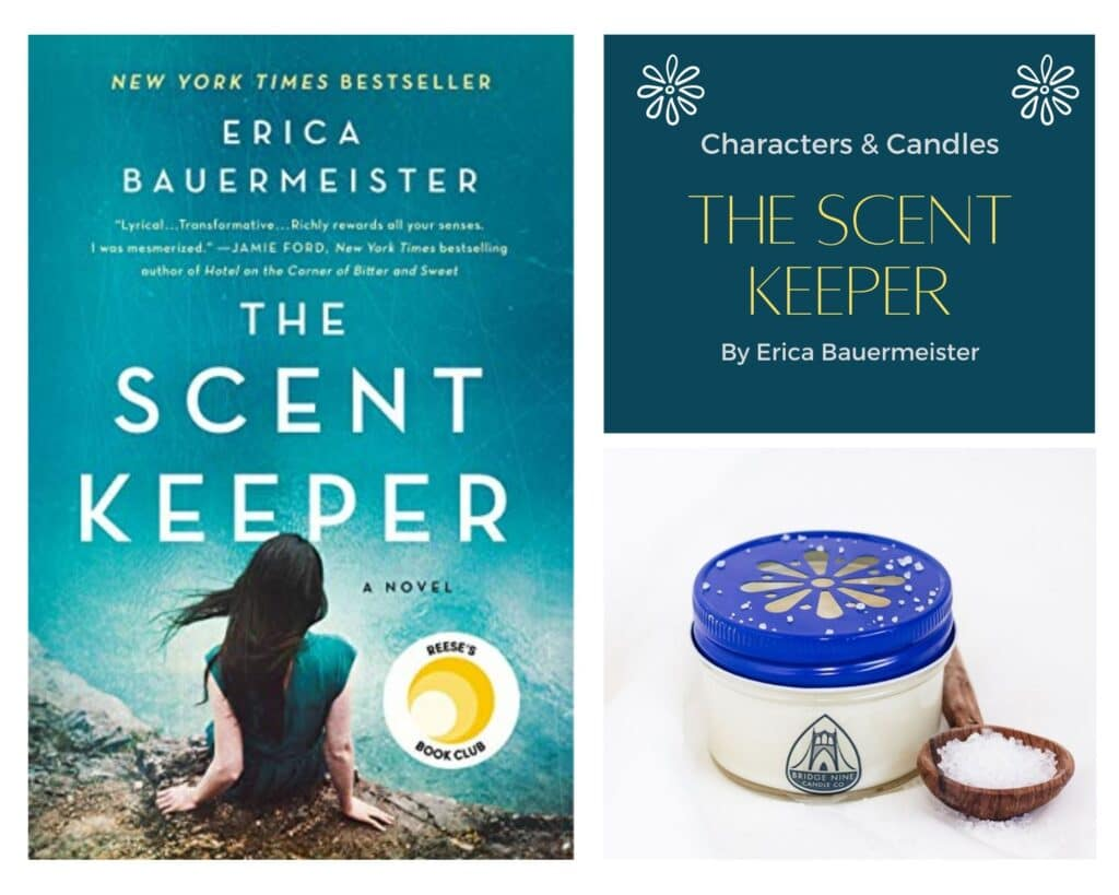 The Scent Keeper Characters and Candle Box