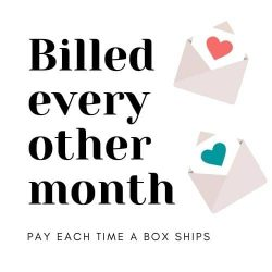 Billed every other month